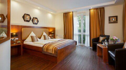 Confort Zimmer im Hotel Mutter Bahr